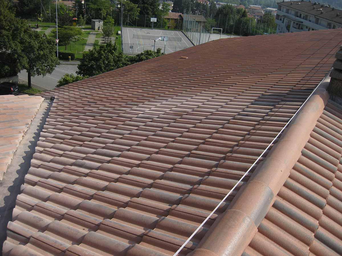 Rifacimento tetto e smaltimento eternit