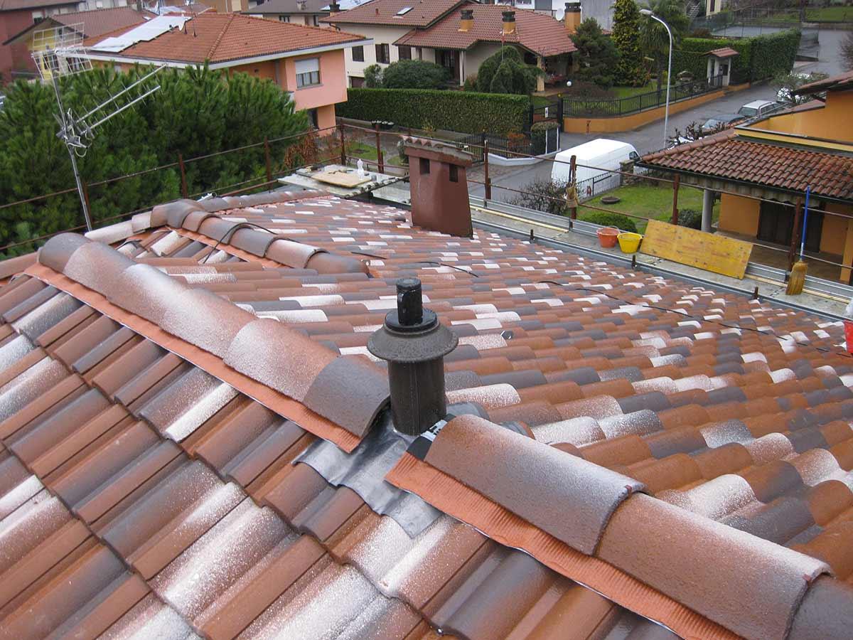 Rifacimento manto di copertura villa bifamiliare