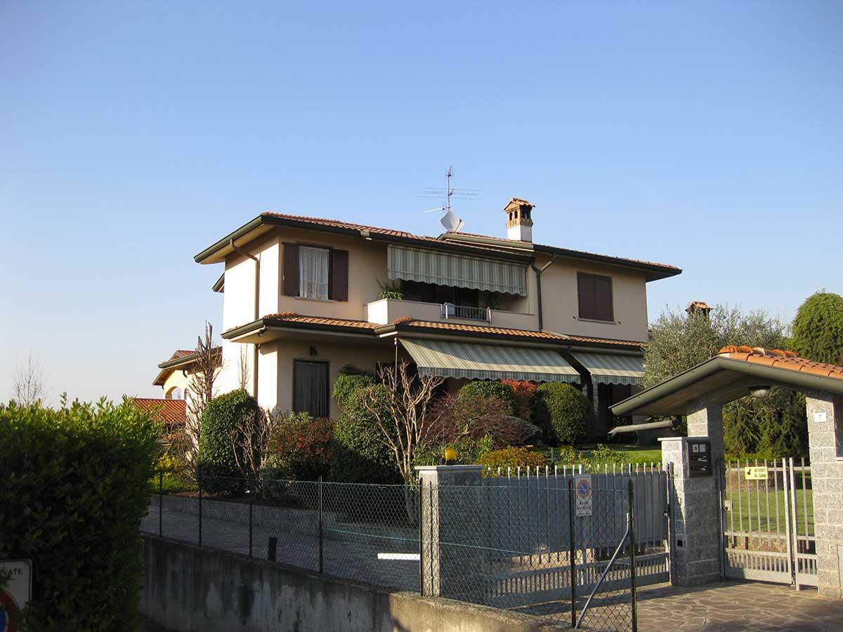Riqualificazione energetica villa singola